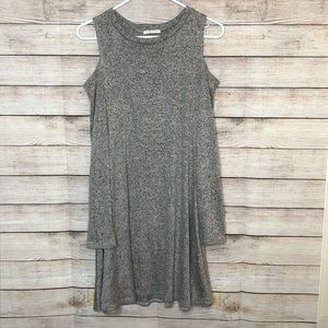 Pinc Cold Shoulder Dress